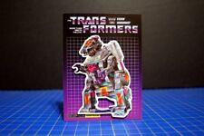 Trypticon Retro Transformers G1 Decepticon 80's Fridge Magnet Art