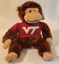 Virginia Tech Va Hokies Plush Monkey Stuffed Animal Plushland