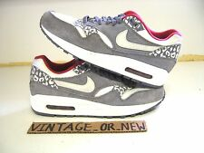 Women's Nike Air Max 1 Leopard Pack 2012 Running Shoes 319986-099 sz 8