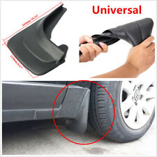 2Pcs Car Wheel Mud Flap Mudflaps Splash Guards Fender 26x21cm Universal Black