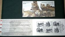 Greenland Stamp Booklet #11 2003 Sledge Dogs - CTO - EXCELLENT!