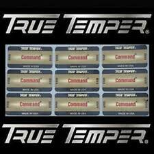 72 New True Temper Command Shaft Labels R or S