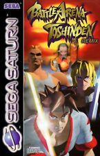 SEGA Saturn Spiel - Battle Arena Toshinden mit OVP