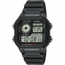 Reloj Digital CASIO AE-1200WH-1A - Hora Mundial 5 Alarmas NEW / SEALED