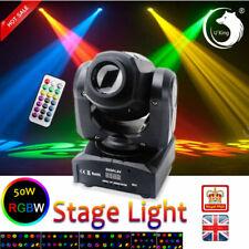 U`King 50W Stage Light LED Moving Head GOBO DMX Remote DJ Wedding Party Disco