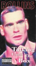 Rollins - Talking From The Box (VHS) Henry Rollins Black Flag