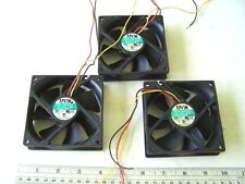Computer Cooling Fans 12VDC 0.3A 92mm. AVC Model E9025S12H lot of 3
