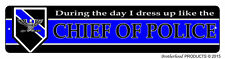 Chief Of Police During The Day Law Enforcement Police Aluminum Street Sign