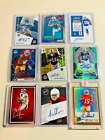 🔥📈 SERIES 4 FOOTBALL MYSTERY PACKS 🔥4 HITS🔥 AUTOS, RELICS, RPA, AND MORE!!!
