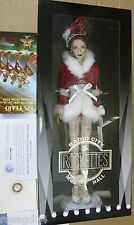 Franklin Mint Rockettes Radio City Barbie Doll - 75 Years Christmas Spectacular
