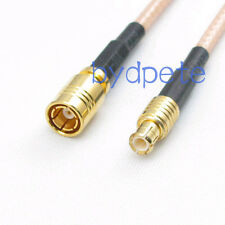 MCX male plug to SMB female jack 8in RF Pigtail Coaxial Jumper Cable RG316 20cm