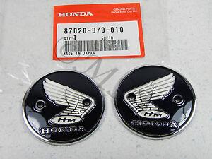 S90 CL90 CB92 CA200 CA95 CB160 Honda Gas Fuel Tank Emblem Badge Set 5030-001