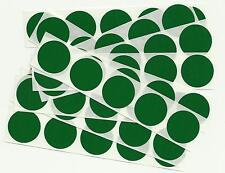 50 x 1 Inch Round Green Scratch Off Stickers - Birthday, Wedding, Hen & Stag