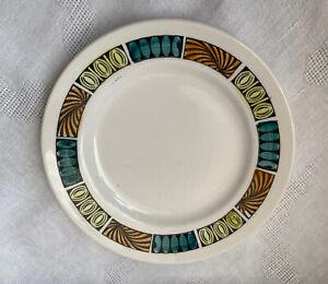 "Retro Broadhurst And Sons Kathie Winkle MARDI GRAS 6.5"" Side Plate"