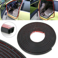 5M B-Shape Moulding Hood Trim Rubber Strip Car Door Edge Seal Weather-strip CHY
