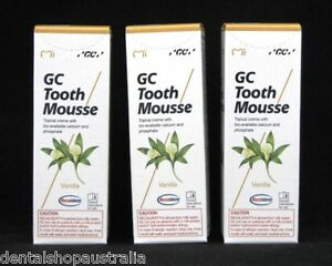 GC Tooth Mousse  relieves whitening sensitivity, dry mouth,conditions teeth (v3)