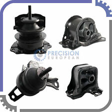 4pc Set | 98-02 Honda Accord 2.3L Engine Motor & Auto Transmission Trans Mounts