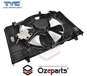 Radiator Cooling Thermo Fan Assembly For Nissan Tiida C11 2005~2012 Hatch Sedan