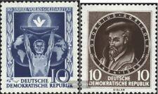 DDR 484,497 (kompl.Ausg.) postfrisch 1955 Volkssolidarität, Agricola