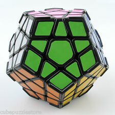 Dayan Megaminx Magic Cube Dodecahedron Twist Puzzle Black with Ridge Fancy Toys