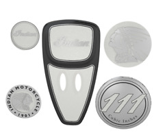 INDIAN MOTORCYCLE PEARL WHITE 2014-2018 TOURING ENGINE COVER KIT FOR CHIEFTAINS