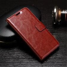 iPhone 5 5s 5se 6 6s 7 8 Plus X 10 Leather Pouch Flip Cover Wallet Phone Case