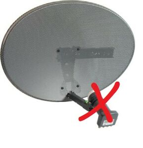 SKY Zone 1 Satellite Dish and Wall Mount Bracket for SKY or FREESAT BRAND NEW