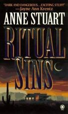 Ritual Sins by Anne Stuart 1997 Suspenseful Contemp Romance