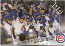 Chicago Cubs Topps Now #40 April 12 2017 Baseball Card