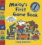 Maisy's First Game Book by Lucy Cousins (2006, Board Book)