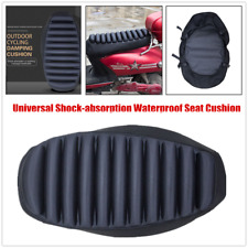 1×Waterproof Motorcycle Scooter Shock-absorption Seat Cushion Pillow w/Air Pump