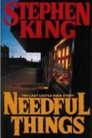 Needful Things by Stephen King (1991, Hardcover)