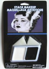 Halloween Stage Make Up Costume Black and White