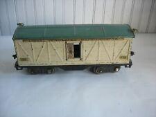 Vtg PREWAR LIONEL STANDARD GAUGE 514 VENTILATED REFRIGERATOR CAR Missing doors