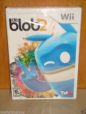 BRAND NEW SEALED de Blob 2 deBlob Nintendo Wii THQ