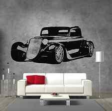 Ford 1933 Classic Hot Rod Street Car Vinyl Sticker Wall Art Boys Room Garage