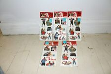The A-Team Mr. T Puffy Stickers 1983 by Larami 5 Different Sealed Packs Mip Nos