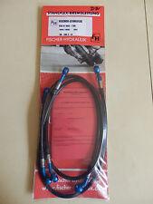 GSX R 600 & 750 K4 / K5 STAHLFLEX BLAU SCHWARZ GSXR GSX-R GSXR750 brake hose D91