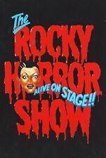 """Russell Crowe """"ROCKY HORROR SHOW"""" Simon Westaway 1988 Australian Cast Program"""