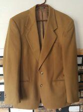 Vito Rufolo Lanifico Del Casentino Dark Camel Suit Coat Jacket 40 L LN