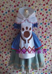 Monster Hunter Cross X Nekojo chan Catgirl Dress Cosplay Costume A018