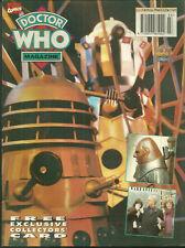 RARE - DOCTOR WHO MAGAZINE #208 - Daleks - Sontaran - missing card - 100s listed