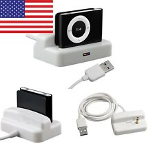 USB Charger & Sync Dock Cradle for Apple iPod Shuffle 2 2nd Gen 2G Lead Cable