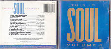CD 15T THIS IS SOUL SAM & DAVE/BROOK BENTON/MARTHA REEVES/JERRY BUTLER/DRIFTERS