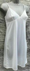 Women Ex BHS White Plain Cling Resistant  Slip Under Dress 12-22