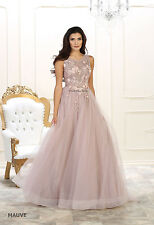RED CARPET PAGEANT FORMAL EVENING GOWN SPECIAL OCCASION EMBROIDERED PROM DRESSES