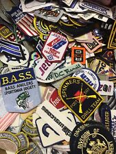 Patch Lot 25 patches Brands Advertising Military Automotive Sports NASA Rare