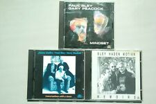 3xcd Paul Bley Peacock 121213/Haden Motian Giuffre Soulnote Italy cd ex/ex+