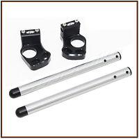 Clip ons CNC Clip on with handle bar KAWASAKI EX 300 / Ninja 300 2013 2014 2015