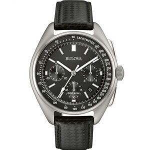 Bulova Men's Special Edition Moon Apollo 15 262Khz Frequency Watch 96B251
